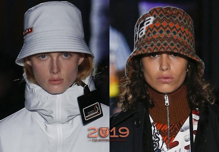 Элегантные шляпки осень-зима 2018-2019