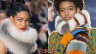 Модный меховой шарф осень-зима 2018-2019