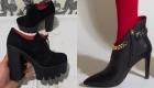 Модные туфли ботильоны