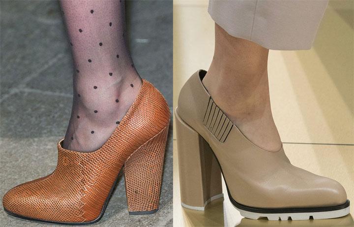 Ботильоны туфли в ретро стиле