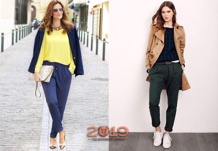 Модные брюки осень-зима 2019-2020 года - КалендарьГода изоражения