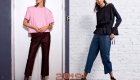 Wide cropped trousers for fall 2018