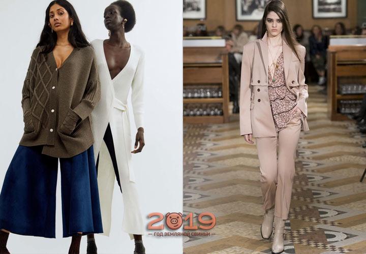 Стильные женские брюки на осень 2018 года