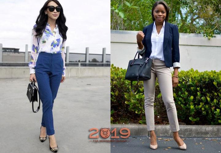 Красивые женские брюки осень 2018