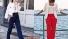 Прямые женские брюки мода 2018-2019 года