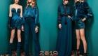 Модный зеленый квезаль 2019 года