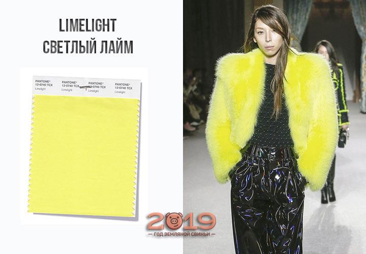 Limelight осень-зима 2018-2019