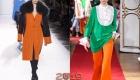 Модный Russet Orange осень-зима 2018-2019