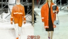 Оранжевый оттенок в модных образах 2019 года