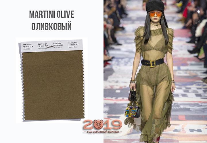 Martini Olive осень-зима 2018-2019