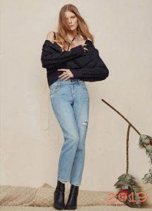 Модные модели джинсов зима 2018-2019