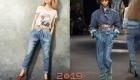 джинсы-бананы тренд сезона осень-зима 2018-2019