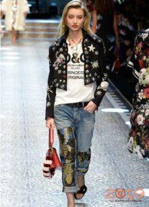 Модные джинсы от Дольче Габбана