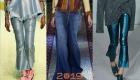 Блестящие джинсы 2018-2019 года