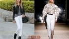 Модные белые джинсы 2018-2019 года