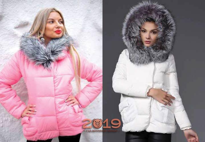 Куртки в светлых тонах на осень и зиму 2018-2019 года