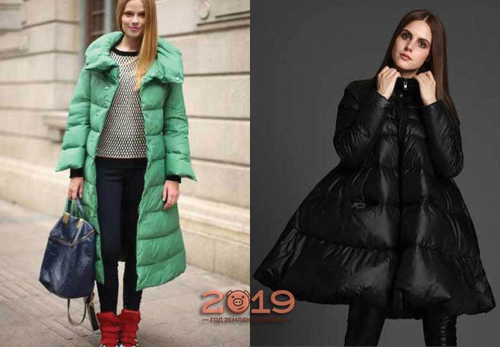 Красивые модели курток зима 2018-2019