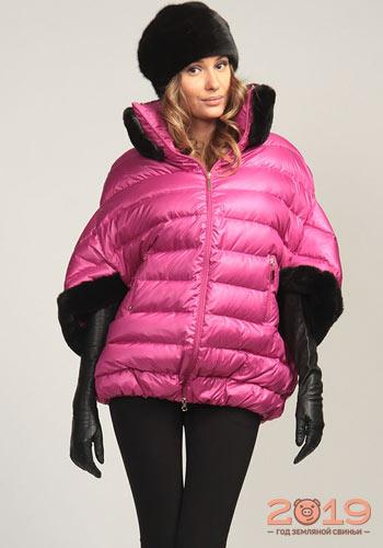 мода курток на зиму 18 19