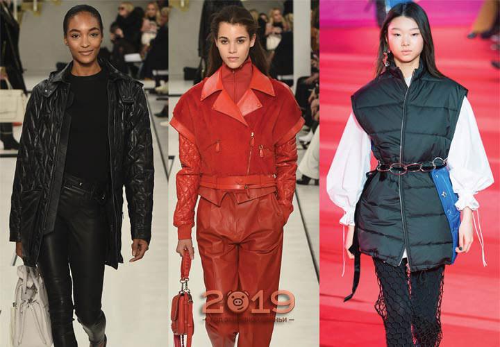 Стеганые куртки сезона осень-зима 2018-2019 года