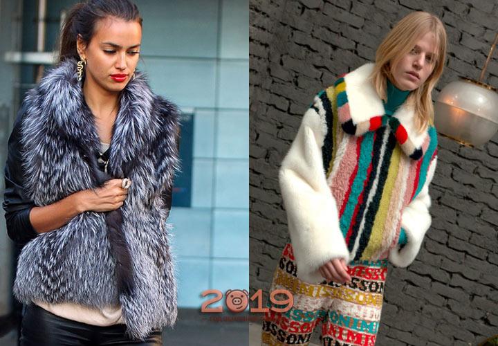 Меховые куртки от дизайнеров
