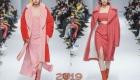 Модные розовые пальто осень-зима 2018-2019 года