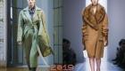 Актуальные модели и цвета пальто зима 2018-2019