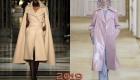 Трендовые модели и цвета пальто зима 2018-2019