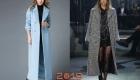 Красивые пальто макси 2018-2019 года