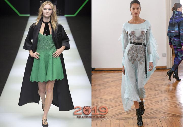 Красивые платья зима 2018-2019