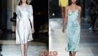 Платье в бельевом стиле зима 2018-2019