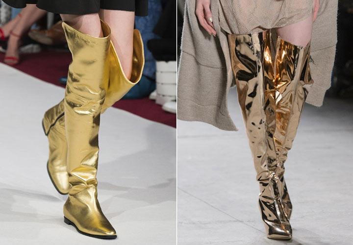Сапоги 2019 года модные тенденции картинки