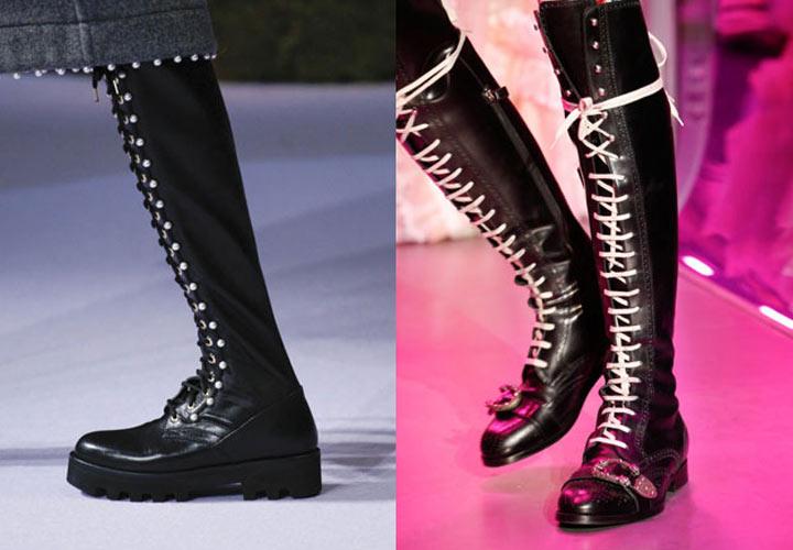Декоративная шнуровка на высоких сапогах. Идеальным вариантом для  повседневной носки являются классические высокие сапоги. feac72a65a1f8