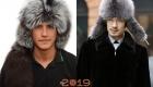 Мужские меховые шапки осень-зима 2018-2019