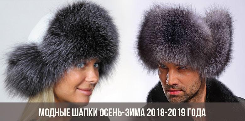Модные шапки осень-зима 2018-2019 года 7dbca2cf7df69