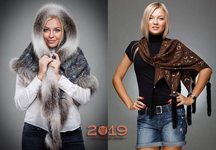 Самые модные модели шарфов на зиму 2018-2019