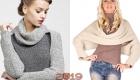 Модные шарфы сезона осень-зима 2018-20190