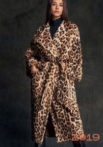 Модная леопардовая шуба на зиму 2019 года