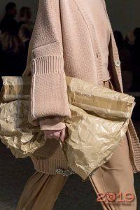 Большая текстильная сумка - тренд 2019 года