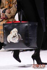 Сумка с собачкой мода 2019 года