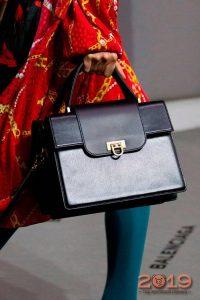 Черная женская сумка на 2019 год
