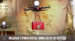 Модные сумки осень-зима 2018-2019 года