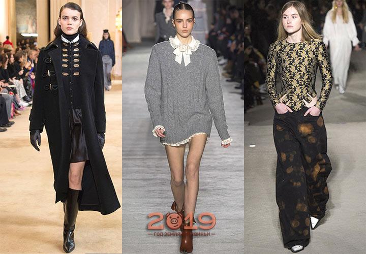 Модные тенденции зимы 2018-2019 года