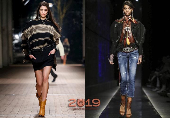 Модные образы зимы 2018-2019 года