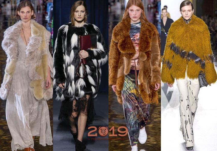 Модные шубы осень-зима 2018-2019
