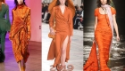 Модный оранжевый на 2019 год