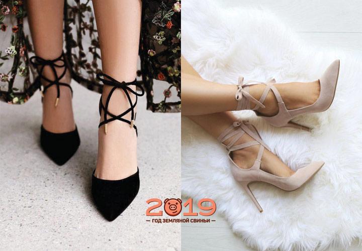 Модные туфли 2018-2019 года