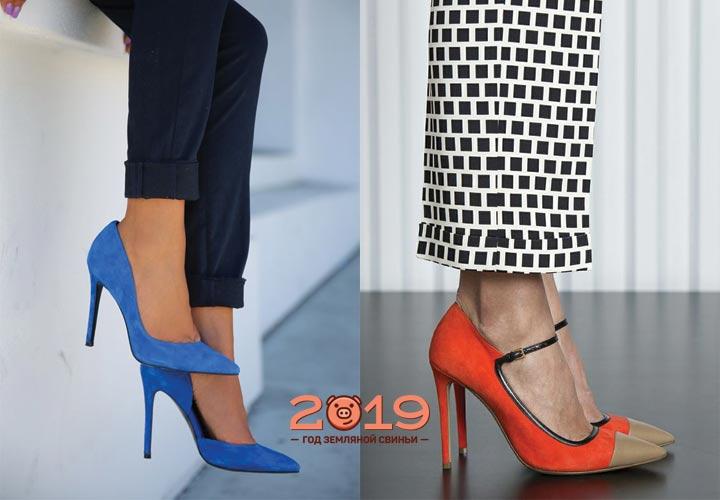Модные туфли-лодочки 2018 года