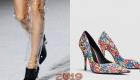 Красивые женские туфли зима 2018-2019