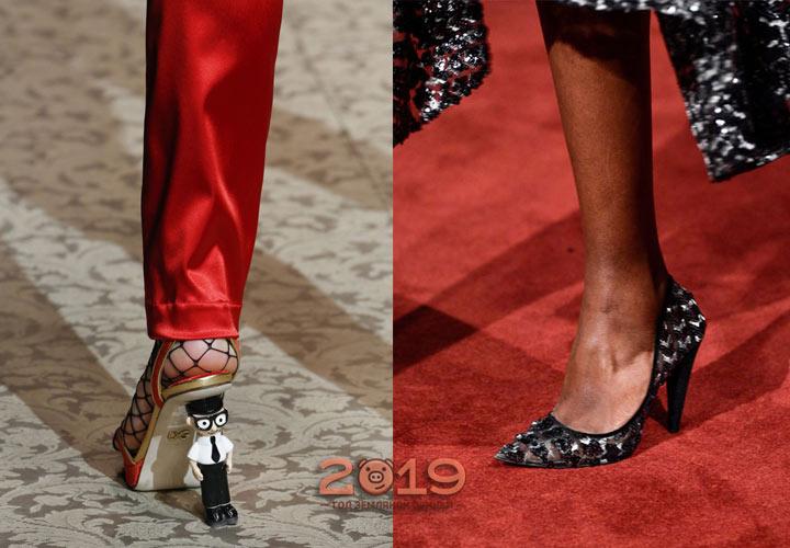Модные каблуки 2018-2019 года