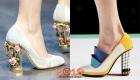 Туфли с креативными каблуками